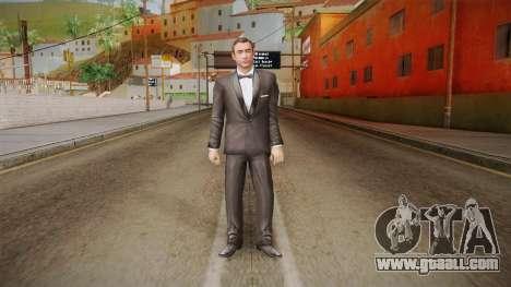 007 Sean Connery Cibbert Black Tuxedo for GTA San Andreas second screenshot