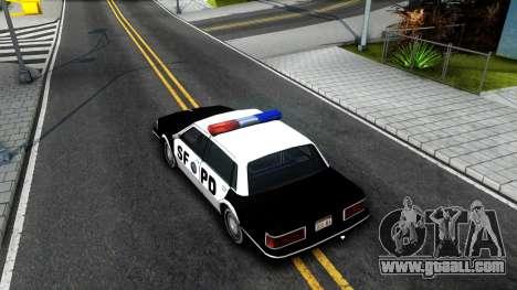 Nebula Police for GTA San Andreas back view
