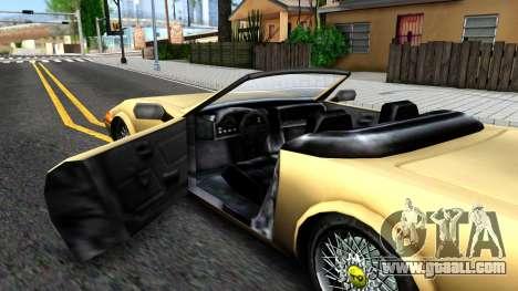 VC Stinger for GTA San Andreas inner view