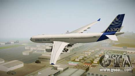 Airbus A330-300 F-WWKA for GTA San Andreas right view