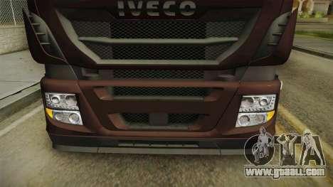 Iveco Stralis Hi-Way 560 E6 6x2 Cooliner v3.0 for GTA San Andreas upper view