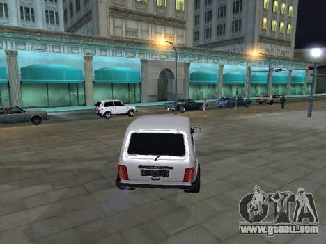 Vaz 2121 Stepanavan-Armenia for GTA San Andreas right view