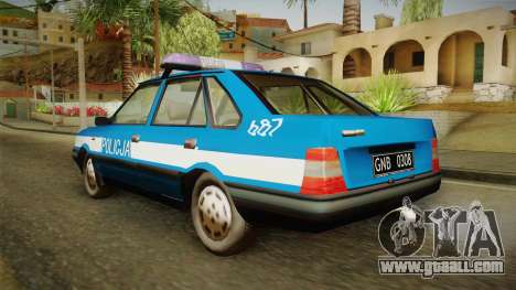 FSO Polonez Atu Policja for GTA San Andreas left view