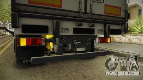 Iveco Stralis Hi-Way 560 E6 6x2 Cooliner v3.0 for GTA San Andreas interior