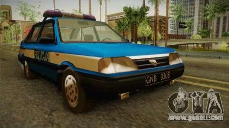 FSO Polonez Atu Policja for GTA San Andreas