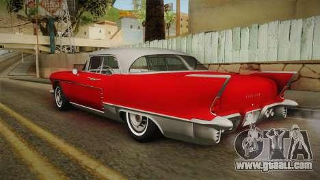 Cadillac Eldorado Brougham 1957 HQLM for GTA San Andreas left view