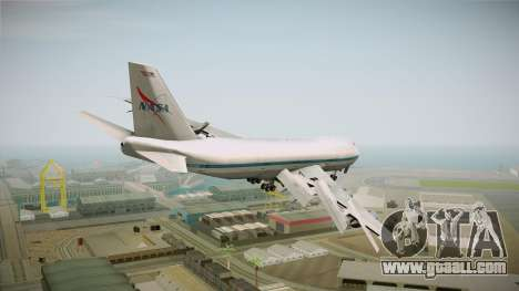 Boeing 747-123 NASA for GTA San Andreas left view