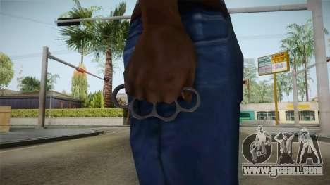 Brass Knuckles for GTA San Andreas third screenshot