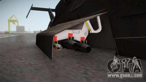 RAH-66 Comanche Retracted for GTA San Andreas back view