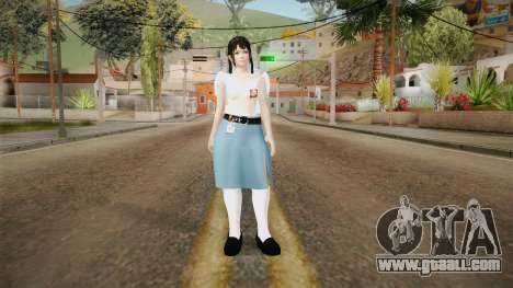 DoA 5 - Marie Rose Indonesian HighSchool Outfit for GTA San Andreas second screenshot