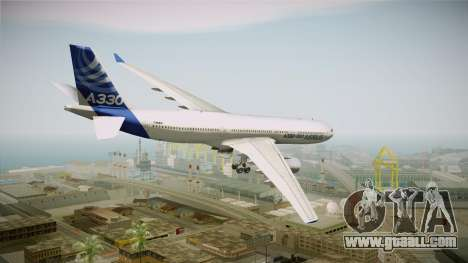 Airbus A330-300 F-WWKA for GTA San Andreas left view