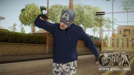 Spider-Man Homecoming - Captain America Thief for GTA San Andreas
