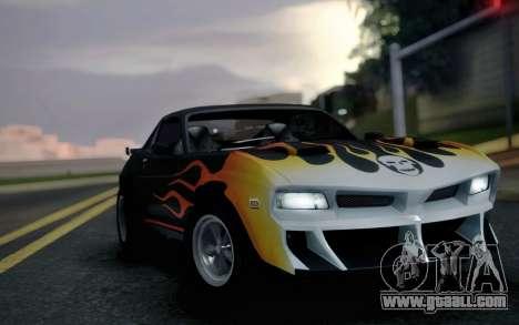 AMC Javelin Speedevil for GTA San Andreas back left view