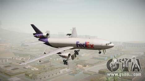 McDonell-Douglas DC-10-30F Fedex for GTA San Andreas