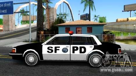 Nebula Police for GTA San Andreas left view