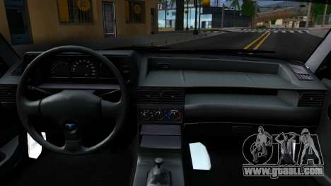Daewoo Nexia Tuning for GTA San Andreas inner view