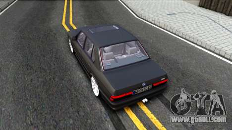 BMW M5 E28 for GTA San Andreas back view