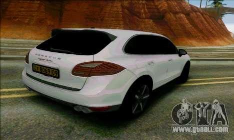 Porsche Cayenne for GTA San Andreas left view