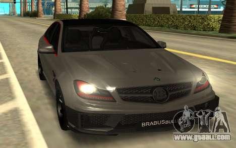 Brabus Bullit Coupe 800 for GTA San Andreas