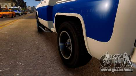 Declasse Rancher Sportside for GTA 4 back view