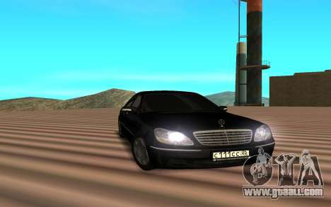 Mercedes s600 for GTA San Andreas
