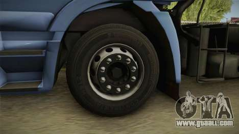 Iveco Stralis Hi-Way 560 E6 6x4 v3.2 for GTA San Andreas back view