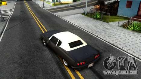 GTA 3 Yardie Lobo for GTA San Andreas back view