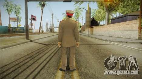 007 Legends Korean General for GTA San Andreas third screenshot