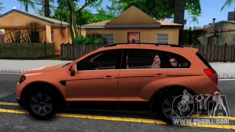 Chevrolet Captiva for GTA San Andreas left view
