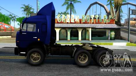 KamAZ 54115 for GTA San Andreas left view