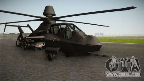 RAH-66 Comanche with Pods for GTA San Andreas