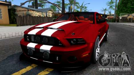 Ford Mustang Shelby GT500 2013 v1.0 for GTA San Andreas