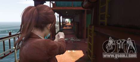 GTA 5 Claire Redfield from Resident Evil: Revelation 2