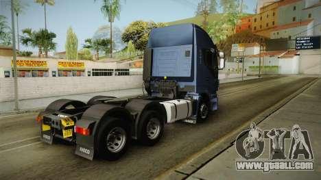 Iveco Stralis Hi-Way 560 E6 6x4 v3.2 for GTA San Andreas left view