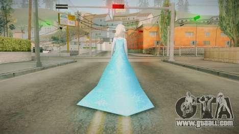 Frozen - Elsa v3 for GTA San Andreas third screenshot