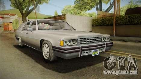 GTA 5 Albany Emperor Hearse for GTA San Andreas