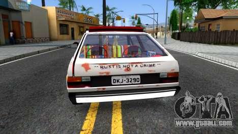 Volkswagen Gol Coca-Cola for GTA San Andreas