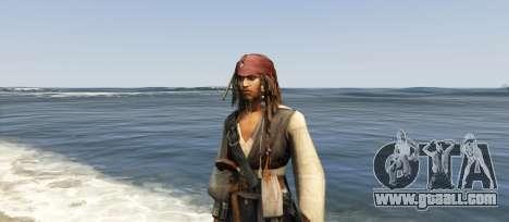GTA 5 Captain Jack Sparrow 1.0