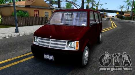 HD Moonbeam for GTA San Andreas