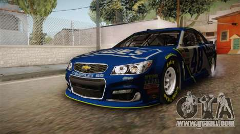 Chevrolet SS Nascar 48 Lowes 2017 for GTA San Andreas right view
