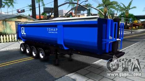 The Tipper Trailer Tonar for GTA San Andreas