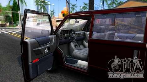 HD Moonbeam for GTA San Andreas inner view