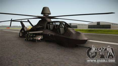 RAH-66 Comanche with Pods Retracted for GTA San Andreas right view