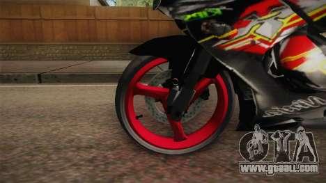 Kawasaki RR 150 for GTA San Andreas back view
