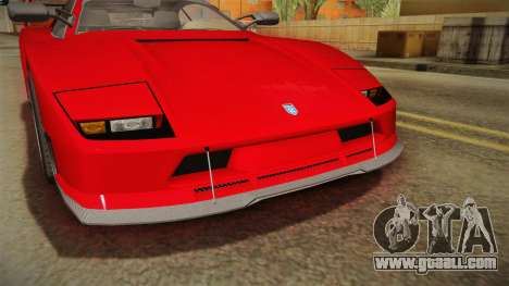 GTA 5 Grotti Turismo Classic IVF for GTA San Andreas upper view