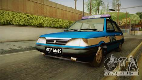 FSO Polonez Caro Policja for GTA San Andreas right view