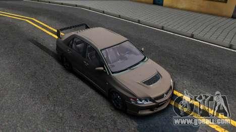 Mitsubishi Lancer Evolution IX 2006 MR for GTA San Andreas right view