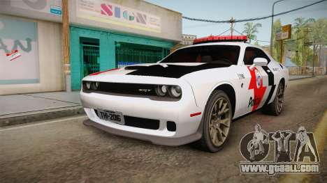 Dodge Challenger Hellcat 2012 PMSP for GTA San Andreas