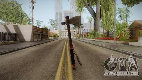 Dead Rising 2 - Tomahawk for GTA San Andreas second screenshot