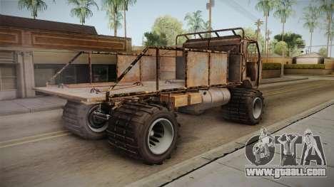 GTA 5 MTL Wastelander IVF for GTA San Andreas left view